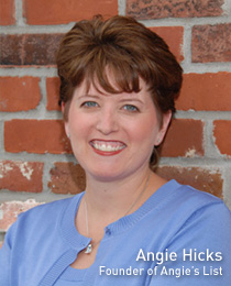 Angie Hicks: Success in Consumer Reviews with Angie's List