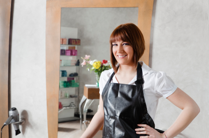 Hair Salon Woman Business Owner