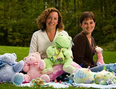 Julie Dix and Danielle Ayotte: Turning a Child's Blanket into a Successful Business
