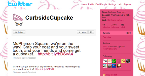 @Curbsidecupcakes on Twitter