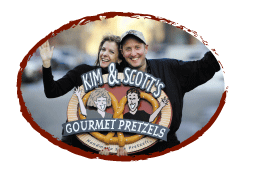Kim & Scott Holstein: Success with Gourmet Pretzels
