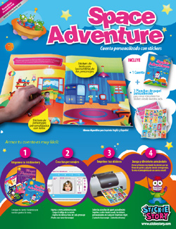 Sticker Story Book for Kids from StickieStory.com