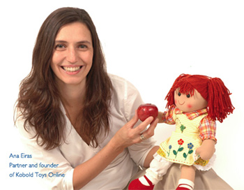 Anna Eiras, one of the founders of Kobold Toys