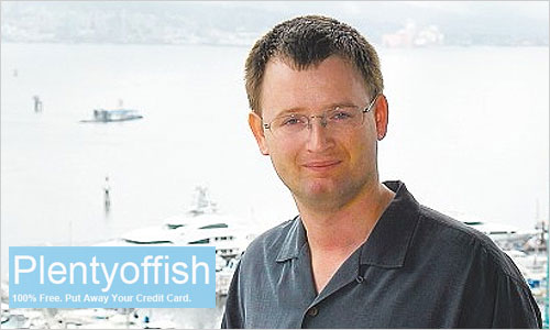 Marcus Frind, founder of PlentyofFish.com