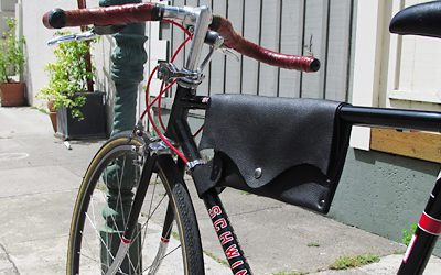 Lisa Marie Grillos: Bag for Bikers with Hambone Designs