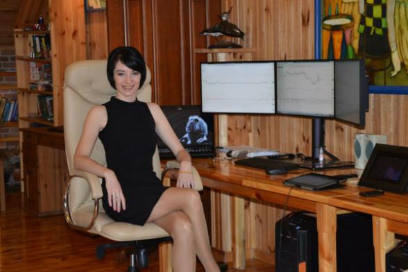 Inna Rosputnia LadyF-Trader.com