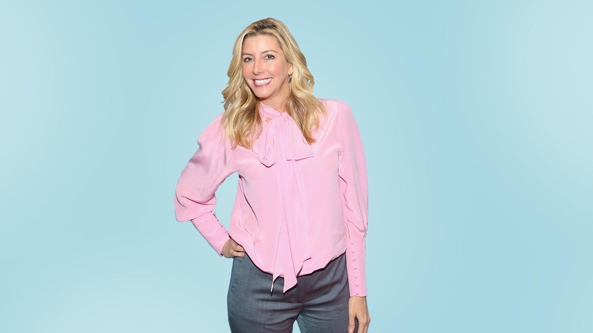 Sara Blakely, the founder of the shapewear company, Spanx.